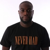 Afbeelding van Aristoteles Never Had T-shirt NHT02 Black / Orange