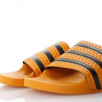 Afbeelding van Adidas Originals CQ3099 Slide sandal Adilette Goud
