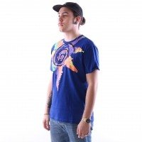 Afbeelding van Diadora 502.161.677-60047 T-shirt Smash Blauw