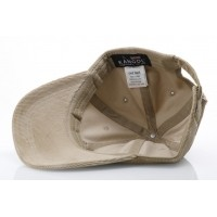 Afbeelding van Kangol K5206HT Strapback cap Cord baseball Bruin