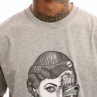 Afbeelding van Dickies Duanesburg 06 210631 T Shirt Gray Melange