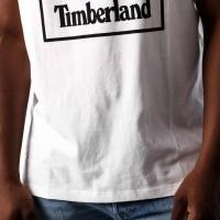 Afbeelding van Timberland SLS SS Seasonal logo tee TB0A1N8Y1001 T shirt White