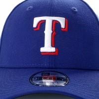 Afbeelding van New Era Mlb The League Texas Rangers 10982649 Dad Cap Official Team Colour Mlb