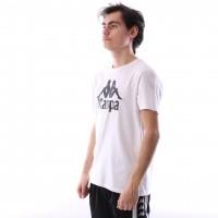 Afbeelding van Kappa 303LRZ0-001 T-shirt Authentic estessi Wit