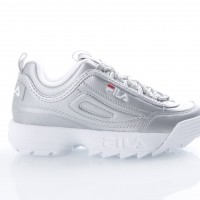 Fila Ladies 1010303-3VW Sneakers Disruptor metallic Zilver