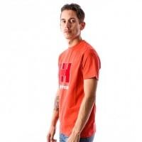 Afbeelding van Helly Hansen 53165-135 T-shirt HH Logo Oranje