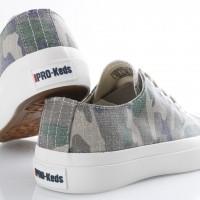 Afbeelding van PRO-Keds PK58347 Sneakers Royal low ripstop camo Bruin