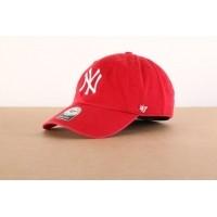 Afbeelding van 47 Brand B-RGW17GWS-RD Dad cap Clean up NY Yankees Rood