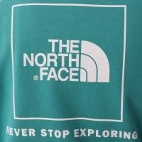 Afbeelding van The North Face T92ZWU-ZCV Hooded Raglan red box Groen