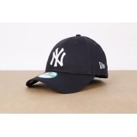 Afbeelding van New Era 10531939 Dad cap 9Forty league basic NY Yankees Blauw