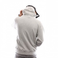 Afbeelding van Russell Athletic Iconic Tackle Twill Pull Over A9-004-1 Hooded New Grey Marl