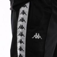 Afbeelding van Kappa 222 Banda Astoria Slim 301Efs0-C50 Trainingsbroek Black-White