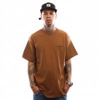 Carhartt WIP S/S Script Embroidery T-Shirt I025778 T shirt Hamilton Brown / Black