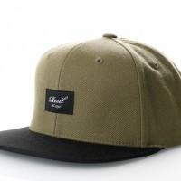 Reell Pitchout Cap 1402-041 Snapback Cap Olive / Black