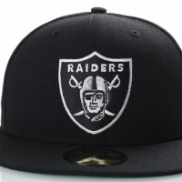 Afbeelding van New Era 80536530 Fitted Cap Nfl Classic 5950 Oakland Raiders Official Team Colors