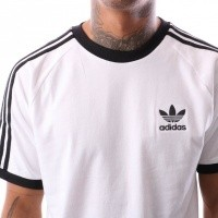 Afbeelding van Adidas 3-STRIPES TEE CW1203 t-shirt WHITE