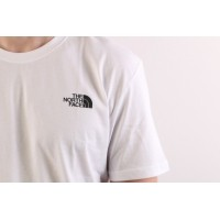 Afbeelding van The North Face T92TX2-FN4 T-shirt Redbox Wit