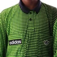 Afbeelding van Adidas REF JERSEY LS DU8207 Polo Longsleeve black