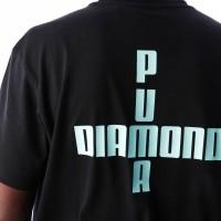 Afbeelding van Puma PUMA x DIAMOND Logo Tee 575358 t-shirt Puma White