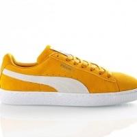 Afbeelding van Puma Suede Classic 365347 Sneakers buckthorn brown-puma white-puma white