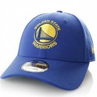 Afbeelding van New Era 11405609 Dad Cap The League Golden State Warriors Official Team Colors