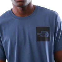 Afbeelding van The North Face M S/S FINE TEE T0CEQ5HDC T shirt SHADY BLUE