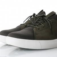 Afbeelding van Timberland CA1OGK Sneakers Amherst lthr ltt Grape leaf/duck brown