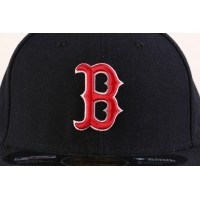 Afbeelding van New Era Basic Fitted Cap Authentic Boston Red Sox Blauw