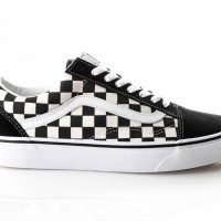 Afbeelding van Vans Ua Old Skool Vn0A38G1P0S Sneakers (Primary Check) Black/White