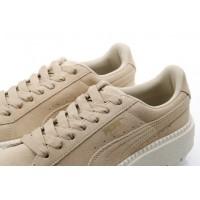 Afbeelding van Puma Ladies 365830-02 Sneakers Platform trace Bruin