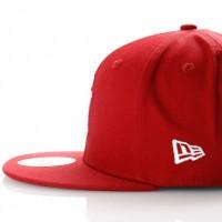 Afbeelding van New Era League Essential 9Fifty 11871485 Snapback Cap Hot Red/Optic White New York Yankees