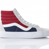 Afbeelding van Vans Classics VA2XSB-QKN Sneakers Sk8-hi reissue Wit