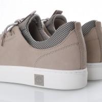 Afbeelding van Timberland CA1OGT Sneakers Amherst lthr ltt Pure cashmere/duck brown