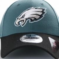 Afbeelding van New Era 10517872 Dad cap NFL the league Philadelphia Eagles Official team colors