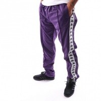 Kappa Banda Astoria Snaps Slim 303KUE0 Trainingsbroek Violet-White Black