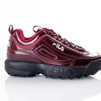 Fila Disruptor M low wmn 1010441 Sneakers marsala (patent)