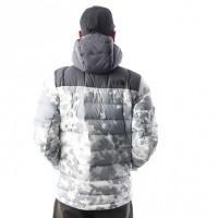 Afbeelding van The North Face M LA PAZ HOODED JKT T0CYG95XQ Jas TNF WHITE MACROFLECK PRNT
