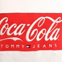 Afbeelding van Tommy Hilfiger TJM Tommy X Coca Cola Sweat DM0DM06690 Crewneck Bright White