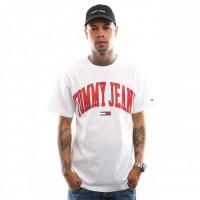 Tommy Hilfiger TJM Collegiate Logo Tee DM0DM05569 T Shirt Classic White
