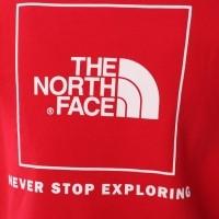 Afbeelding van The North Face T92ZWU-682 Hooded Raglan red box Rood