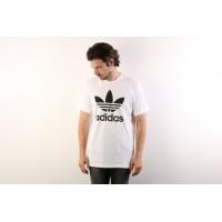 Afbeelding van Adidas Originals AJ8828 T-shirt Original trefoil Wit