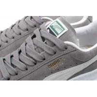 Afbeelding van Puma 352634-66 Sneakers Suede classic+ Grijs