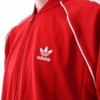 Afbeelding van Adidas Originals CW1257 Tracktop Sst tt Rood