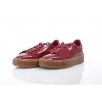 Afbeelding van Puma Ladies 363314-04 Sneakers Basket platform patent Rood