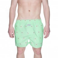Afbeelding van Pockies Boxershort Ice Cones 2.0 Mint Green - Ice Cones