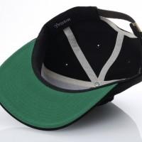 Afbeelding van Brixton 00871 Strapback cap Peeper Zwart