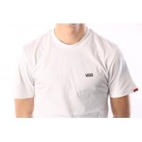 Afbeelding van Vans VA3CZE-WHT T-shirt Left chest logo White
