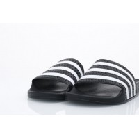 Afbeelding van Adidas Originals 280647 Slide sandal Adilette adicolor const Zwart