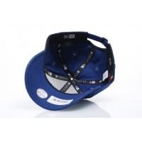 Afbeelding van New Era 11405492 Dad cap MLB league essential 940 LA Dodgers Royal Blue