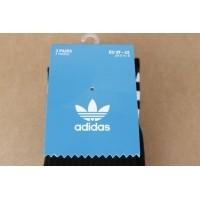 Afbeelding van Adidas Originals S21490 Socks Solid crew Zwart 3 pack